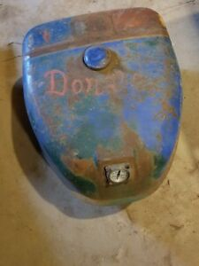 Allis chalmers D14 Tractor Left Hand Hood Panel And Center Support