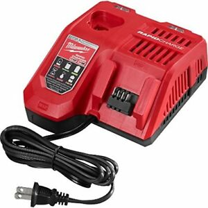 New Milwaukee 48 59 1808 M18 M12 Cordless Battery Rapid Charger