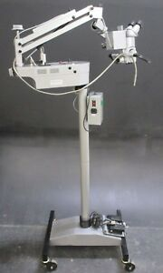 Visine Instruments Dental Surgical Microscope For Oral Surgery W Mobile Stand