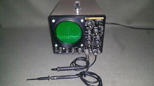 Good B k Precision Model 1470 Dual Trace Oscilliscope With Manual