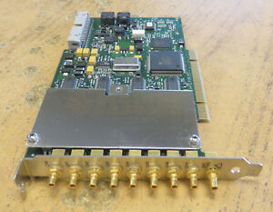 National Instruments Ni Pci 4472 8 input Sound And Vibration Device 187611e 01