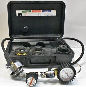 Snap On Svts263a Air Powered Cooling System Pressure Tester in Case