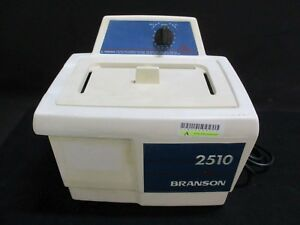 Bransonic 2510 Dental Ultrasonic Cleaner Bath For Instrument Cleaning