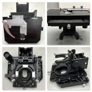 Olympus Microscope Bh2 Svr Mechanical Stage Rt Hand Lower Drive condenser Holder