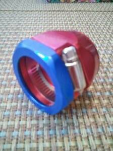 Heater Radiator Clamp For 1 I D Hose Red Blue 3560 Spectre Fitting Worm Gear