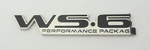 1996 2002 Pontiac Firebird Trans Am Ws6 Rear End Badge Emblem 96 02 New Black