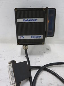 Datalogic Ds4600a 3000 Laser Barcode Scanner Sh2361 With 90 Degree Mirror Gfc 41