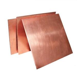 Us Stock 1 5mm X 100mm X 150mm 99 9 Pure Copper Cu Metal Sheet Plate