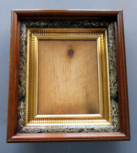 Antique 19th Century Eastlake Marbleized Picture Frame Circa 1870