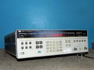 Hp Hewlett Packard 3325a Synthesizer Function Generator W Opt 001 Free Ship