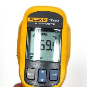 Fluke 62 Max Ir Thermometer Ip54 30 To 500 C 20 To 930 F