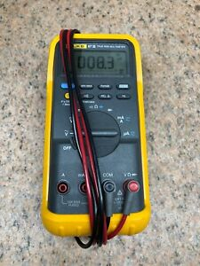 Fluke 87 Iii True Rms Multimeter With Leads And Manual