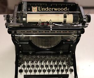 1930 S Underwood Typewriter Restored And In Great Condition