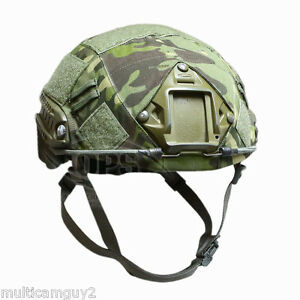 OPSUR-TACTICAL HELMET COVER FOR OPS-CORE FAST HELMET IN MULTICAM TROPIC-ML
