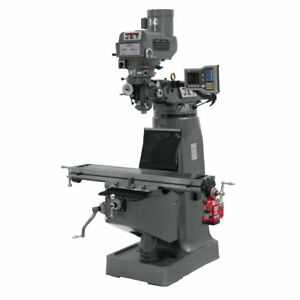 Jet 690402 Jtm 4vs 1 Mill With Acu rite Vue Dro With X axis Powerfeed