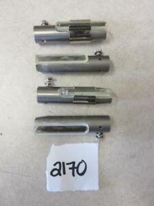 Nuclear Medicine Lead Syringe Shields Lot Of 4 Parts