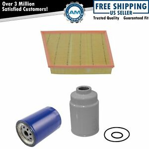 Ac Delco Air Oil Fuel Filter Set Of 3 For Chevy Gmc 6 6l Duramax Turbo Diesel