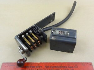 Atlas Craftsman 10 12 Lathe Furnas Forward Reverse Drum Motor Switch