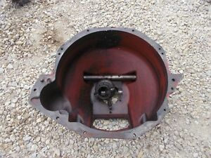 Massey Harris 33 Tractor Rowcrop Original Mh Bell Housing Fork