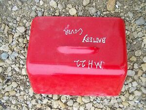 Massey Harris Mh 22 20 81 Tractor Battery Box Cover Repainted Nice