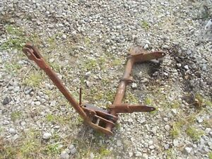 Massey Harris Pony Tractor Rear Mh Cultivator Lift Bracket Arms
