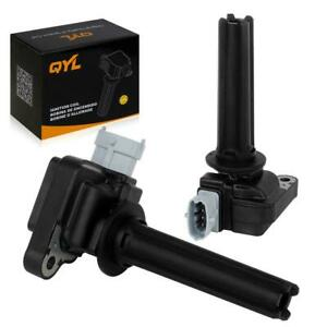 Qyl 2 Ignition Coil For Chevy Cobalt Ss L4 2 0l Supercharged 8th Vin Digit P