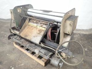 Barnes Drill Kleenall Products Mp20 3260 Filter Conveyor 10181760018
