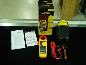 Fluke 324 True rms Clamp Meter Free Shipping