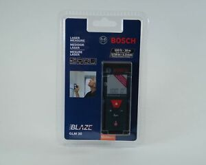 Bosch Glm30 100ft 30m Laser Measure Extreme Accuracy Calculates Distance Area