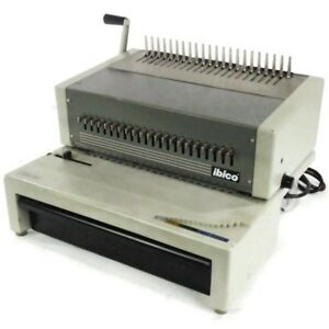 Ibico Epk 21 Heavy Duty Electric Punch Plastic Comb Binding Machine