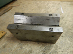 Brown And Sharpe Magnetic V Block Machinist Tool Jig Fixture Missing Parts
