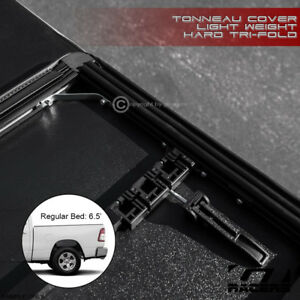 For 2019 Dodge Ram 1500 6 4 76 8 Bed Lightweight Hard Tri Fold Tonneau Cover