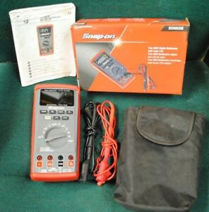 Snap on Eedm525e True Rms Digitial Multimeter With Color Lcd