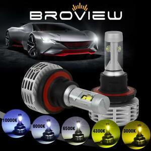 Broview M5 Led Light Bulb 9008 H13 Headlight High Low Beam 22w 5 color In One