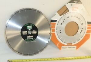 Diamond Blade 14 Utility Concrete Diamond Products 95048 Segmented Unused