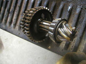 Allis Chalmers B C Tractor Ac Transmission Drive Gears On Short Shaft