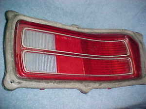 1973 1974 1975 1976 Plymouth Duster Nos Mopar Right Tail Light Lens