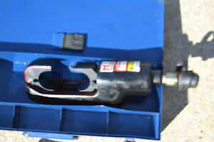 Huskie Ep 610hn Hydraulic Crimper Compression Tool 15 Ton Crimping Head