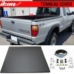 Fits 82 11 Ford Ranger 94 01 Mazda Pickup 6ft 72in Bed Tri Fold Tonneau Cover