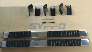6 New Style For 09 15 Dodge Ram Quad Cab Running Board Nerf Bars Side Steps