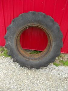 Firestone F151 14 9x28 Tractor Tire 25 Tread Tube Ac Wd45 Wd 45 Ford 981 681