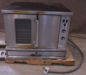 Garland Master 200 Full size Electric Single Convection Oven 3 phase Top 1