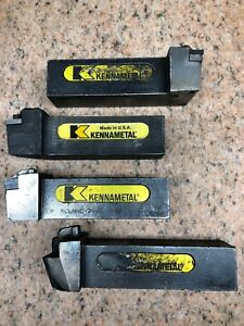 4 Kennametal Indexable Lathe Tool Holders 1 5
