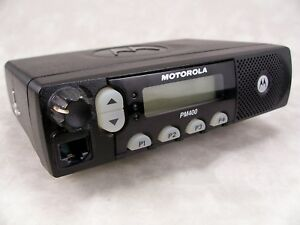 Motorola Pm400 Uhf 64ch 40w Ltr Mobile Radio W new Accessories