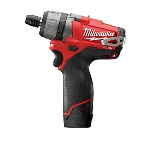 Milwaukee 2402 22 M12 Fuel 1 4 Hex 2 speed Screwdriver Kit