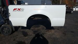 Whcart Ford Truck Bed Box Super Duty 99 10 White Short Bed F250 F350 Rust Free