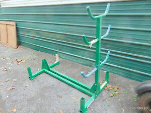 Greenlee 668 Mobile Conduit And Pipe Wire Rack With Casters