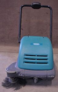 Tennant Nobles 3610 24 Walk Behind Battery Powered Sweeper no Battery