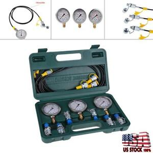 Best Selling Excavator Hydraulic Pressure Test Kit With Hose Coupling And Gauge