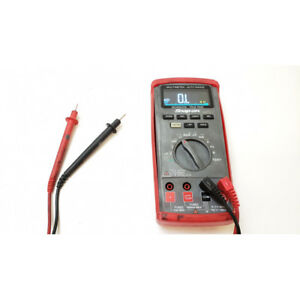 Snap on Eedm525e Auto range Digital Multimeter With True rms And Backlit Color D